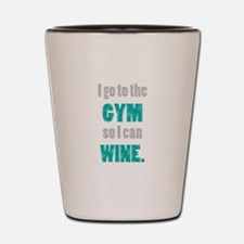 Cute Gym Shot Glass