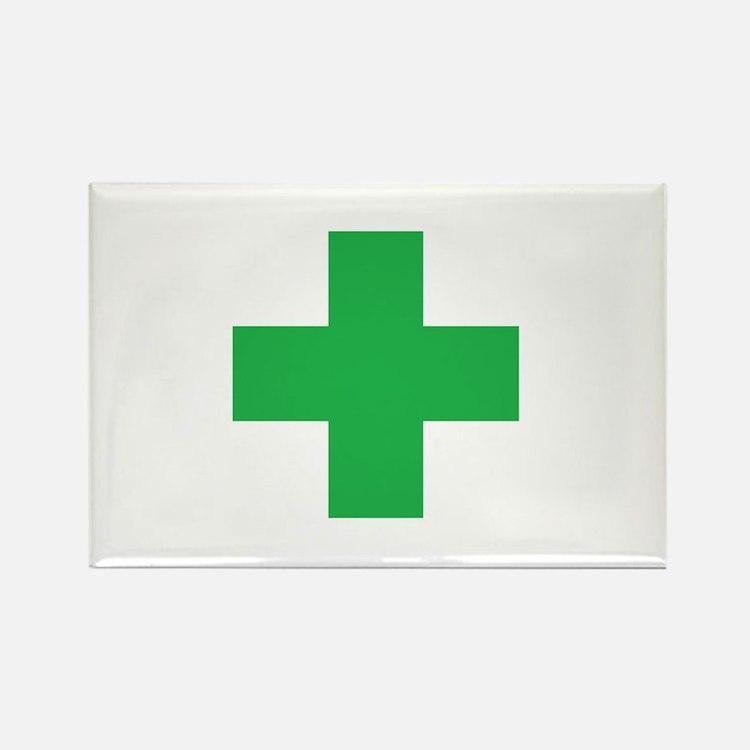Green Cross Magnets