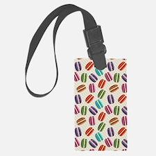 Cute Macaroon Luggage Tag