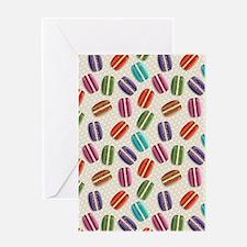 Cute Macaron Greeting Card