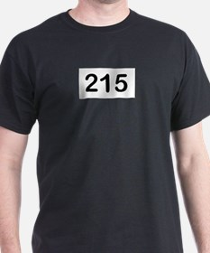 Cute Philly 215 area code T-Shirt