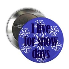 I Live For Snow Days Button