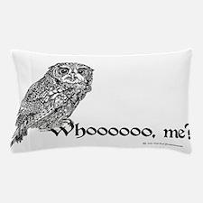Who Owl Pillow Case