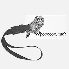 Who Owl Luggage Tag