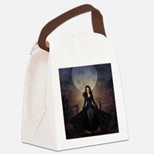 Cute Ravens Canvas Lunch Bag