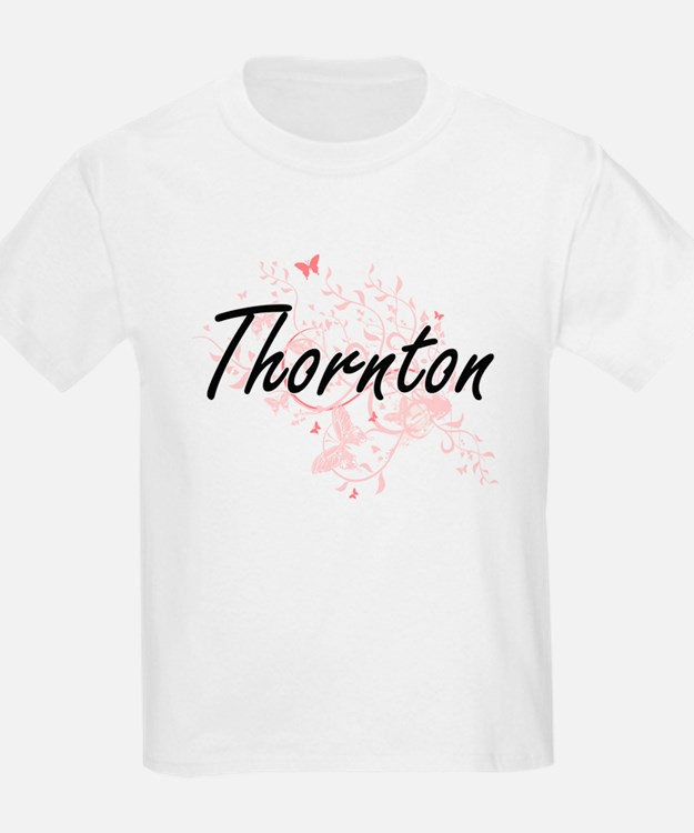 Thornton surname artistic design with Butt T-Shirt