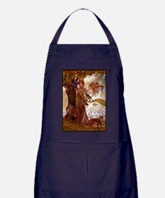 Muse Wildlife Fantasy Apron (dark)