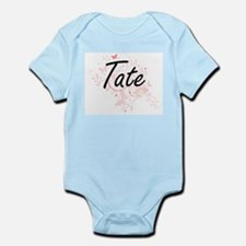 Tate surname artistic design with Butter Body Suit