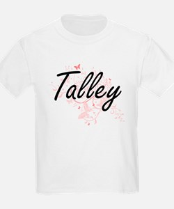 Talley surname artistic design with Butter T-Shirt
