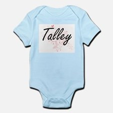 Talley surname artistic design with Butt Body Suit