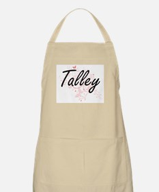 Talley surname artistic design with Butterfl Apron