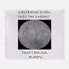 Moonshirt5.png Throw Blanket