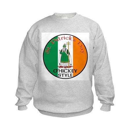 O'Hickey, St. Patrick's Day Kids Sweatshirt