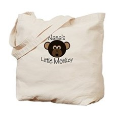 Nana's Little BOY Monkey Tote Bag