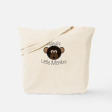Nana's Little BOY Monkey Tote Bag