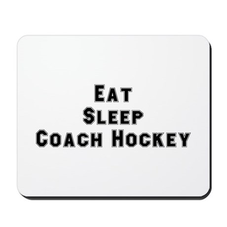 Hockey Player Mousepad