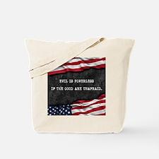 Cool Patriot Tote Bag