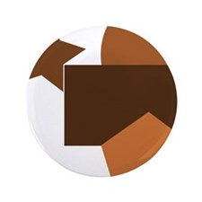 brown forms, geometry Button