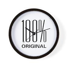 100% Original Wall Clock