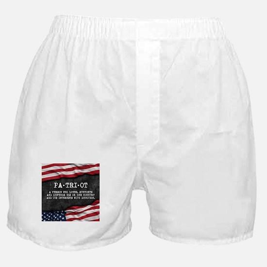 Patriot definition. Boxer Shorts