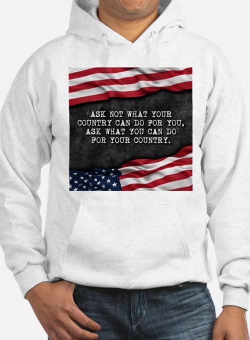 Patriotic quote. What can you do Hoodie