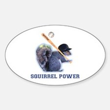 Squirrel Power Decal