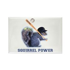 Squirrel Power Rectangle Magnet