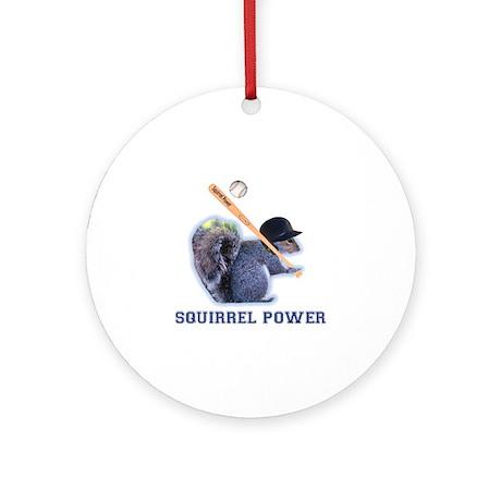 Squirrel Power Ornament (Round)