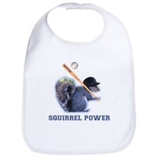 Squirrel Power Bib