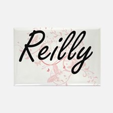 Reilly surname artistic design with Butter Magnets