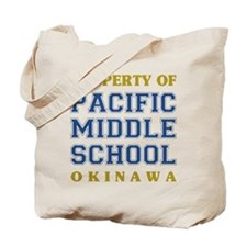 Pacific Middle School Tote Bag