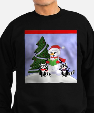 Christmas Racoon Jumper Sweater