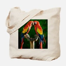 Beautiful Parrots Tote Bag