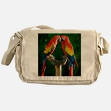 Beautiful Parrots Messenger Bag