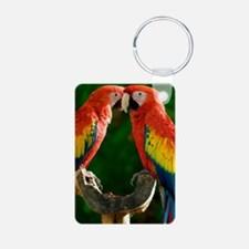 Beautiful Parrots Keychains
