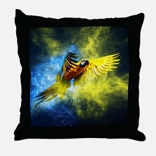 Beautiful Parrot Throw Pillow