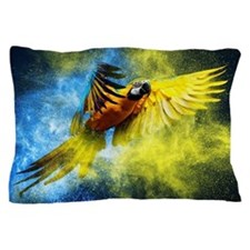 Beautiful Parrot Pillow Case