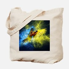 Beautiful Parrot Tote Bag