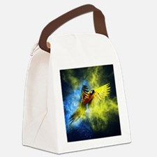 Beautiful Parrot Canvas Lunch Bag