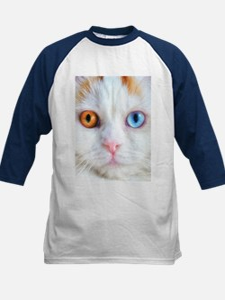 Odd-Eyed White Cat Tee