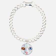 Odd-Eyed White Cat Bracelet