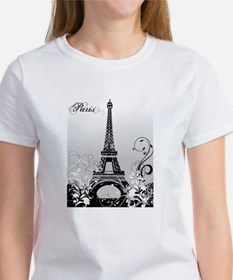 Eiffel Tower Paris (B/W) Tee