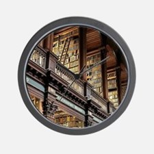 Unique Library read Wall Clock