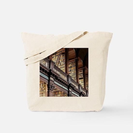 Funny Bookworm Tote Bag