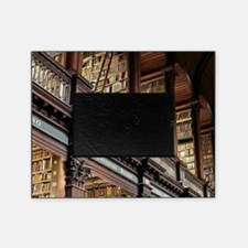Cute Library Picture Frame