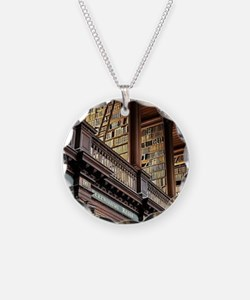 Cute Library Necklace
