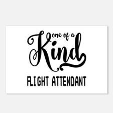 One of a Kind Flight Atte Postcards (Package of 8)