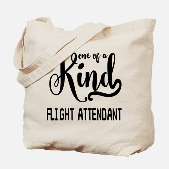 One of a Kind Flight Attendant Tote Bag