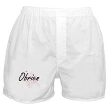Obrien surname artistic design with B Boxer Shorts