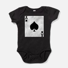 Cute Ace Baby Bodysuit